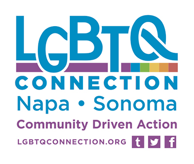 Lgbtq Connection Napa Sonoma Promo Logo